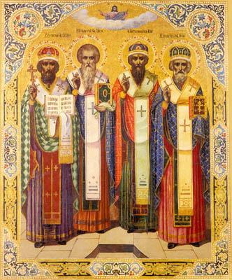 Святители Герасим, Стефан, Питирим и Иона